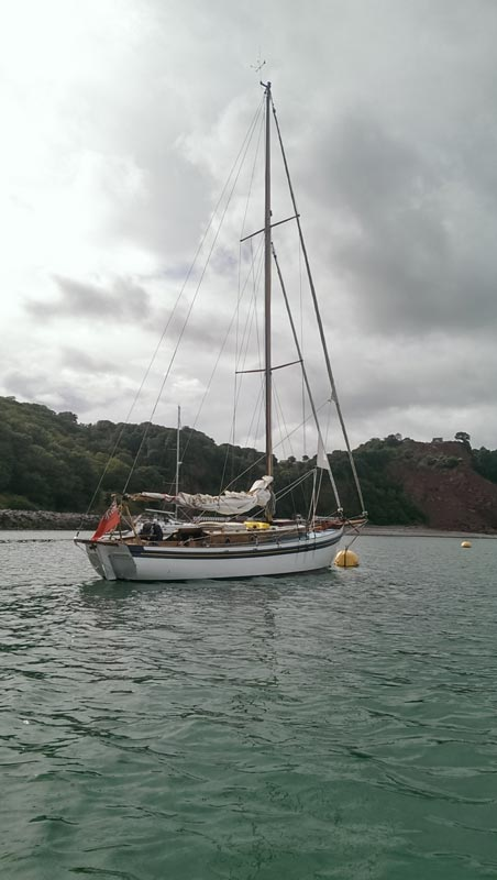 Vertue Andrillot current Bermudan rig