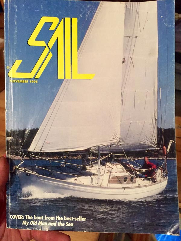 sail magazine cover vertue sparrow